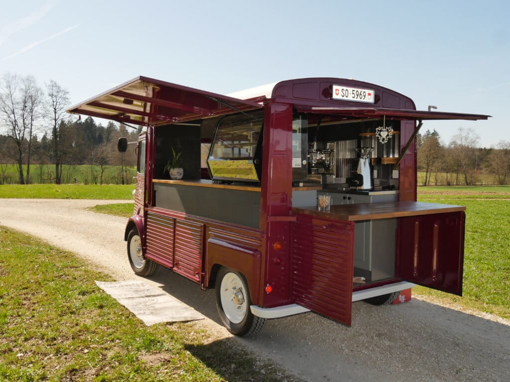 Citroen HY als Coffee-Truck